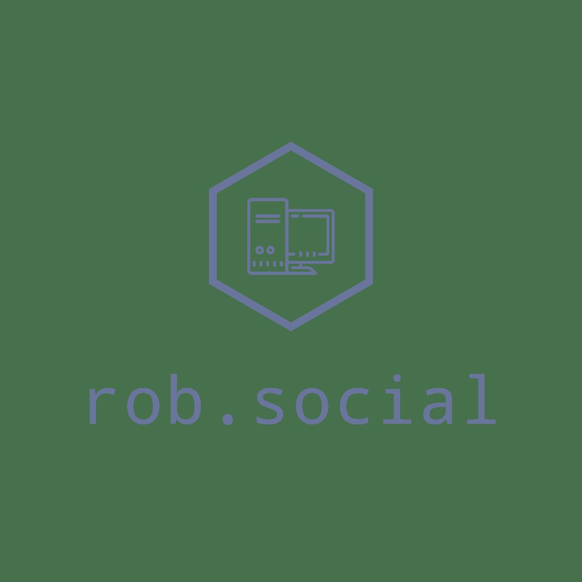 rob.social logo